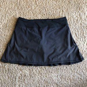 Lululemon Black Tennis Skort- Size 8Tall
